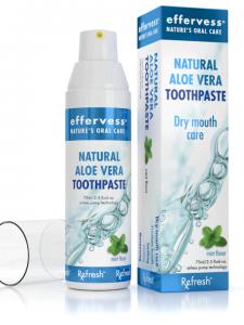 Effervess-all natural aloe vera Toothpaste