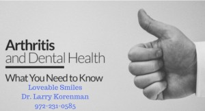 arthritus and dental health 2