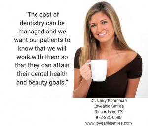 cost of dentistry
