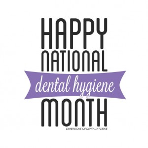 National Dental Hygiene Month image