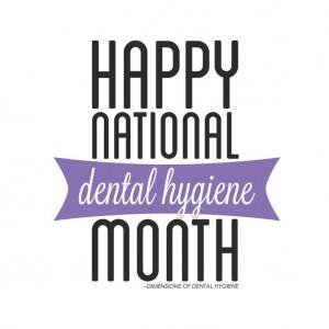 National Dental Hygiene Month image