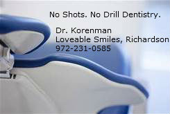no shots no drill dentistry
