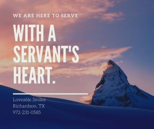 We are here to serve
