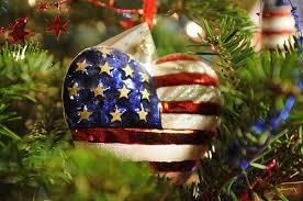 flag on tree